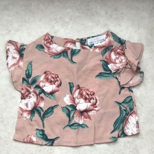 Other - Baby girl crop top